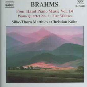 Silke-Thore Matthies - Four Hand Piano Music - Vol.14 (CD)