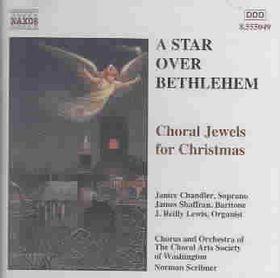 Choral Arts Society Washington - A Star Over Bethlehem Xmas Carols (CD)