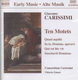Carissimi - Ten Motets (CD)