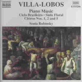 Villa Lobos P - Piano Music Vol 3;Rubinsky (CD)