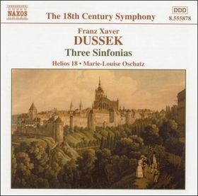 Dussek:Three Sinfonias - (Import CD)