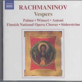 Finnish Nat Op Ch,Soderstrom - Rachmaninov: Vespers (CD)
