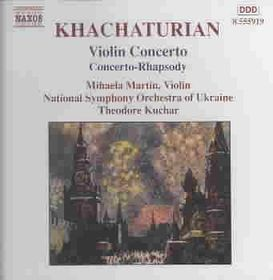 Khachaturian - Violin Concerto;Martin/Kuchar (CD)