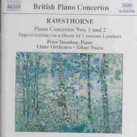 Rawsthorne - Piano Concertos Nos.1&2;Donohoe (CD)
