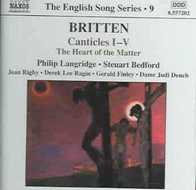 Langridge/bedford - Britten: Canticles Nos. 1-6 (CD)