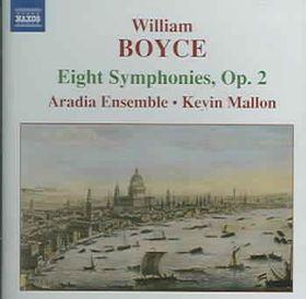 Aradia Ensemble - Symphonies Nos.1-8, Op.2 (CD)