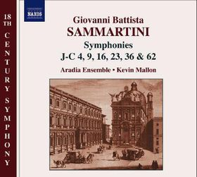 Sammartini:Sym J-C 4 9 16 23 36 & 62 - (Import CD)