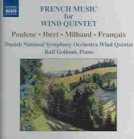 Danish Radio Wind Quintet - French Wind Quintets (CD)