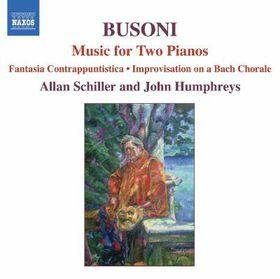 Ferruccio Busoni:Music for Two Pianos - (Import CD)