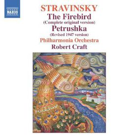 Philharmonia Orchestra, Robert - Stravinsky:firebird Urtext/pet (CD)