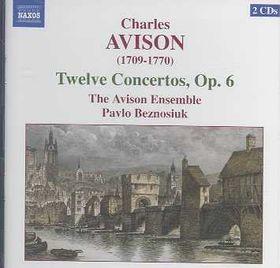 Avison - 12 Concerti, Op.6 (CD)