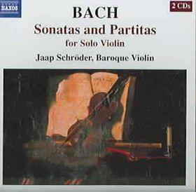 Jaap Schroder - Sonatas & Partitas For Solo Violin (CD)