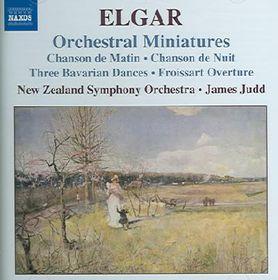 Elgar Edward - Orchestral Miniatures (CD)