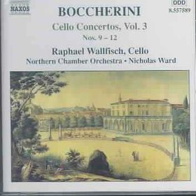 Boccherini - Cello Concertos Vol 3 (CD)