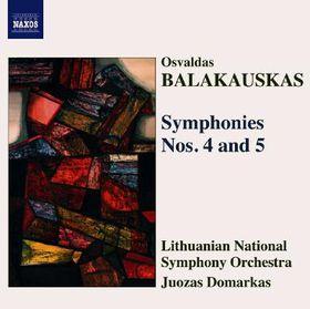 Balakauskas - Balakauskas: Syms Nos 4 & 5 (CD)