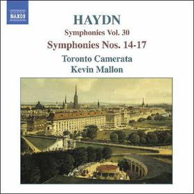Haydn:Symphonies Vol 30 Sym Nos 14-17 - (Import CD)