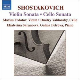 Shostakovich Dimitry - Violin Sonata & Cello Sonata (CD)