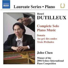 Dutilleux Henri - Complete Piano Music (CD)