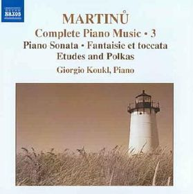 Martinu:Piano Music Vol 3 - (Import CD)