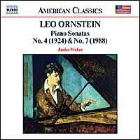 Ornstein - Piano Sonatas No.4 & 7 (CD)