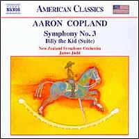 Symphony No.3 - Billy The Kid - Various Artists (CD)