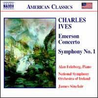 Ives:Emerson Concerto/Symphony No. 1 - (Import CD)