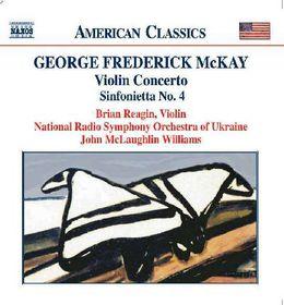Kovaleva, Ludmilla / Reagin, Brian - Violin Concerto / Sinfonietta No.4 (CD)