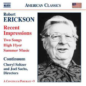 Erickson - Orchestral Chamber & Vocal Music (CD)