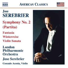 Serebrier - Symphony No.2 Fantasia For String Violi (CD)