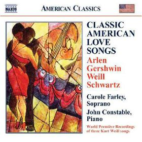Constable, John / Farley, Carole - Classic American Love Songs (CD)
