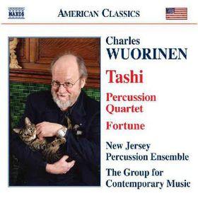 Wuorinen - Tashi, Fortune, Percussion Quartet (CD)