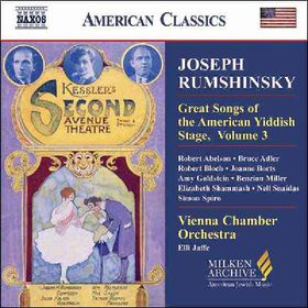Songs Of Yiddish Stage Vol 3 - Various Artists (CD)
