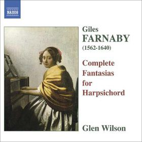 Farnaby Giles - Complete Fantasias For Harpsichord (CD)