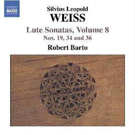 Weiss:Lute Sonatas Vol 8 - (Import CD)