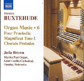Buxtehude - Organ Music - Vol.6 (CD)