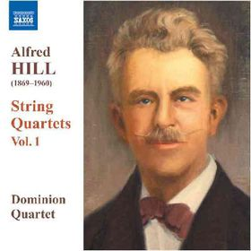 Hill - String Quartets Nos.1-3 (CD)