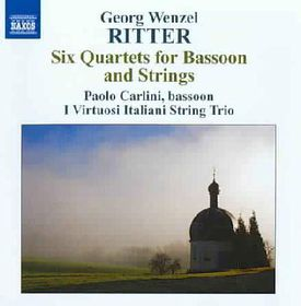 Ritter - 6 Bassoon & Strings Quartets (CD)