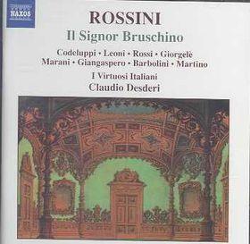 Rossini - Il Signor Bruschino;Leoni/Rossi/Ceoluppi (CD)