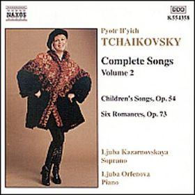 Tchaikovsky:songs Vol.2 - Complete Songs - Vol.2 (CD)