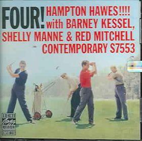 Hampton Hawes - Four! (CD)