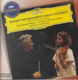 Anne Mutter-Sophie / Berlin Philharmonic Orchestra - Violin Concertos Nos. 3 & 5 (CD)