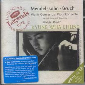 Kyung Wha Chung - Violin Concerto / Violin Concerto No. 1, Scottish Fantasia (CD)
