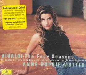 Anne Mutter-Sophie / Trondheim Soloists - Four Seasons / Sonate Teufelstriller (CD)