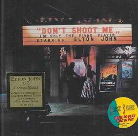 Elton John - Don't Shoot Me, I'm Only The Piano Player (CD)