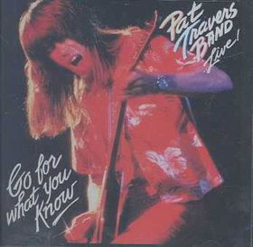 Pat Travers - Live - Go For What You Know (CD)