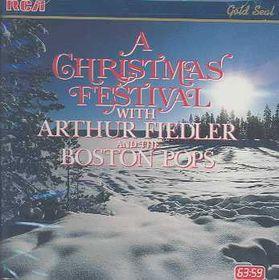 Arthur Fiedler & The Boston Pops - A Christmas Festival (CD)