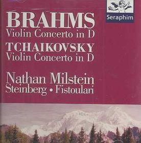 Tchaikovsky/Brahms:Violin Concertos - (Import CD)