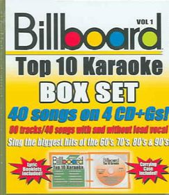 Billboard Top 10 Karaoke Vol 1 - (Import CD)