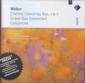 Weber - Clarinet Concertos Nos.1 & 2 (CD)