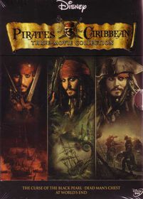 Pirates of the Caribbean Trilogy  (DVD)